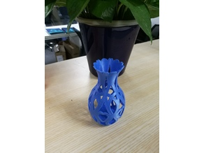 hollow out  vase