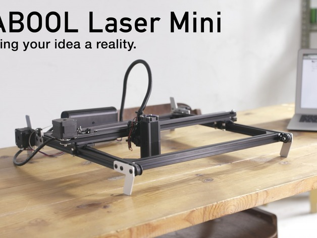 Diy Desktop Laser Cutter And Engraver Fabool Laser Mini