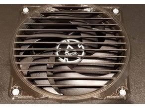 120mm directed flow fan grill