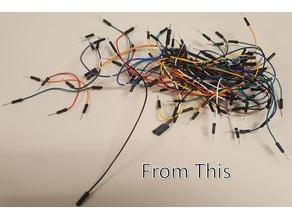 Arduino Jumper Wire Holder