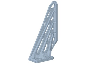 Replacement Frame Brace for PSU, Stiffened - Original Prusa i3 MK3