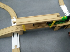 add a layer support for wooden brio style track