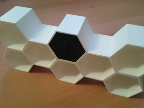 Hexagon storage drawer