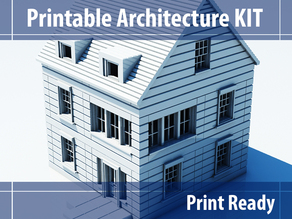 Printable Architecture Kit Series 3