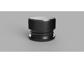 Round Screw Cap Container Pill Box Printer Test