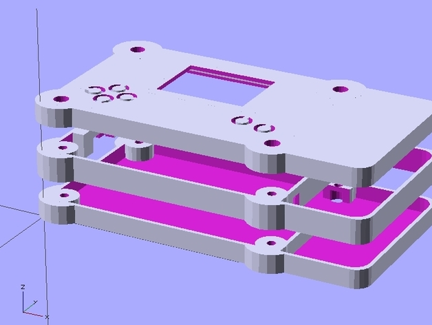 Digipixel led shield case for arduino or digispark by jww