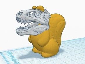 Squirrelasaurus T Rex