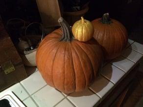 Einscanned Pumpkin