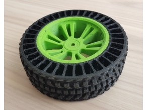 Airless Tyre for Traxxas E-Revo VXL (Dual Extrusion)