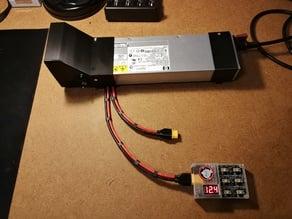 HP DPS-700 GB PSU - 700w - 80mm fan and wire mod 12AWG