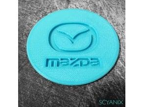 Mazda Cup Holder Insert / Coaster