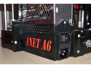 Anet A6 Power Supply Cover