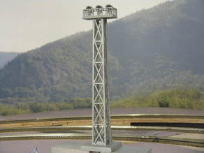 HO Scale 68' Yard Light Tower