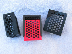 Box with Hexagonal Holes