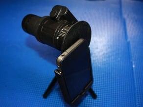 Iphone 4 telescope adapter