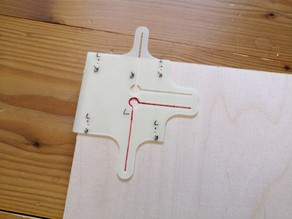 Motor Mount Drilling Jig and Center Marker