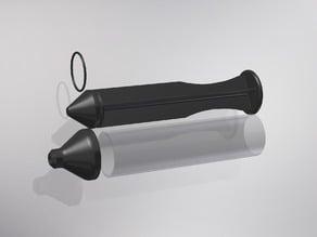 Syringe for soft plastics