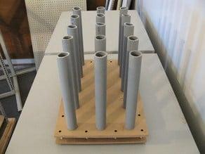 Floor Rack for Vinyl Rolls