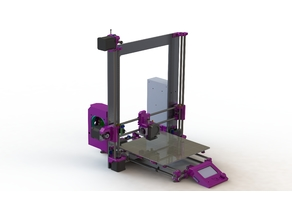 Prusa i3 MK2 with many revisions