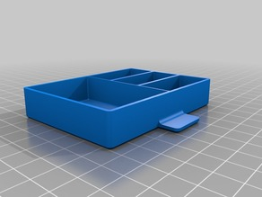 Drawer box with four #3 compartments