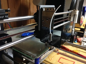 butter slider x carriage stock extruder plate