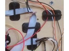 Jumper wire holder & organizer