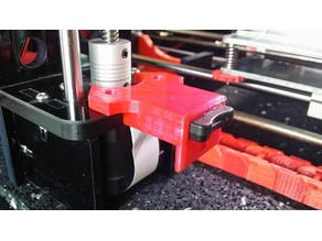 Micro SD Holder for Z-Stepper Anet A8