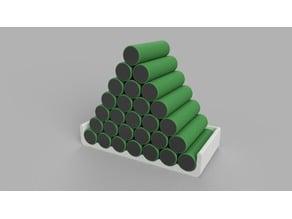 18650 Battery Holder Storage