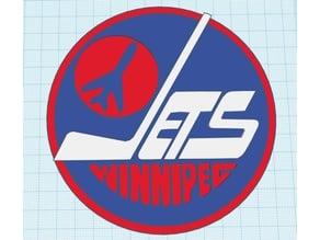 Old Winnipeg Jets logo