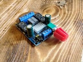 Customizable instrument knob (potentiometer knob)