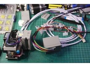 WIP - magnetic TitanClone, LJ12A3, RJ45 quickchange printhead