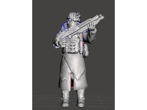 Killzone Helghast Rifleman Ice Trooper