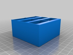 75mm x 75mm x 36mm storage drop box small and strong for size