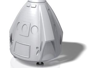 Dragon V2 Capsule with landing legs