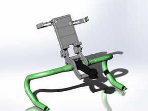 Tablet Holder for Bicycles on Trainers