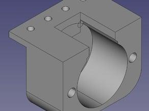 Modular vehicle part 2: V5 stepper motor holder
