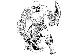 Kratos stencil 3