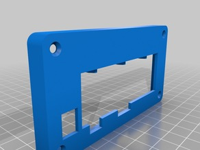MangOH: front face plate for IoT box - large enclosure