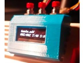 Amiga Gotek OLED Box (High profile with push buttons)