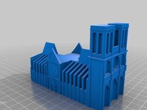 Notre-Dame candle holder
