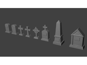 Headstones for Tabletop Gaming