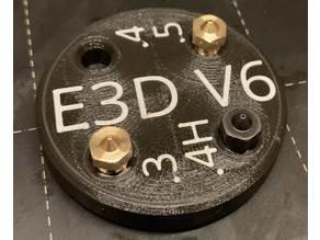 Nozzle holder/puck E3D V6