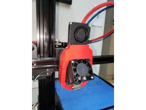 XViCO - Magnetic Fang - OEM fan + E3D V6 hotend
