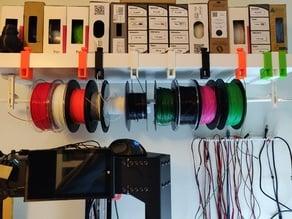 Lack Shelf Filament Guide