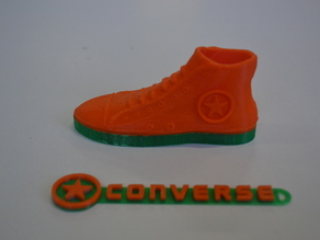 Converse All Star shoe and logo