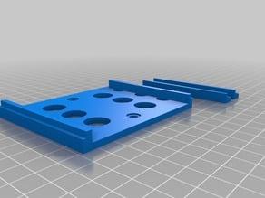 Backing plate for Nylex rain gauge