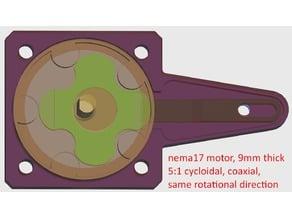 Nema 17 Motor Cycloidal 5:1 Gear Ratio