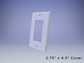 Square Light Switch Cover for United States