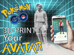 Pokemon GO: Trainer Avatar - Male Idle Pose