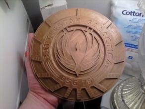 Battlestar Galactica Wallhang